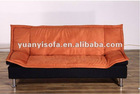 orange chaise lounge sofa bed YB2214