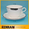coffee cup and saucer/Porcelain coffee cups and saucers set