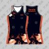 professional sublimated netball uniform bodysuit custom