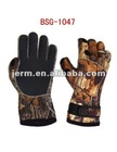 Camo Neoprene Hunting Gloves