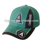 2012 spring 100% cotton fashion promotional baseball cap ,5 panels baseball cap with embroidery and printed logo