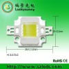 COB led 10W with led lens 60/90dgree angle 6legs pure white/ warm white Bridgelux 45mil 32V 350mA and 12V 900mA