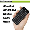 Ipazzport Flying Air Mouse 2.4GHz Wireless Keyboard for Google Android Mini PC Smart TV Remote Controller KP-810-16A