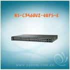 Fast Ethernet CISCO Catalyst 3560V2 Series WS-C3560V2-48PS-E Switch 48 x RJ45 + 4 x SFP