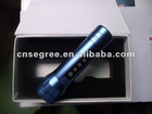 multifunctional high power LED flashlight with FM & MP3 player