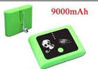 high capacity 9000mSh external power pack kits ,laptop battery charger