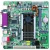 5COM+VGA+VGA pins+ LVDS+1DDR3DIMM+ PCI+PCIEx1 interface +2SATA+7USB2.0+ Parallel MINI ITX motherboard
