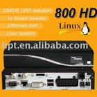 Hot Selling Blackbox Satellite Receiver DVB 800 set top box for Europe