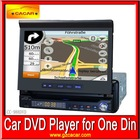 2012 hot sale for one din car dvd player with GPS bluetooth touch lcd screen/ USB/SD/radio