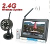 """7"""" Motion Detection Night vision mobile wireless DVR"""