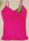 Ladies seamless tank tops in bulk