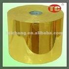 Gold Self Adhesive Aluminum Foil Paper
