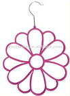 Pile coating Scarf hanger/flower type belt hanger