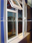 Europe style casement pvc windows,popular design,windows pvc,famous design pvc windows