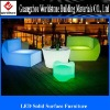 special translucent acrylic LED furniture/bar decor