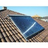 Household solar heating system(easy installation for individual house)