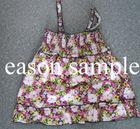 Fashion cotton dress for kids