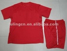 2012-13 red soccer uniform/sportswear/men's wemen's kit;s track suit