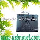 Notebook aluminuium bottom 3 fan