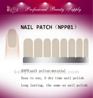 Zero dry time Colored Nail Polish Patch