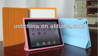 2013 NEW Ipad Smart Cover with double-faced and 4 fold stand