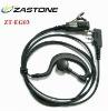 big PTT button microphone PTT button microphone in-ear ear hook earpiece ZT-EG13