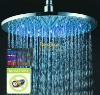 "12"" Water Powered LED Rain Shower Head QH326B"