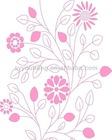 Beautiful design best price silk printing glass