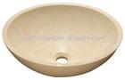stone marble basin-Crema Marfil