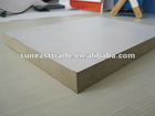 white melamine paper laminated MDF board
