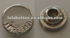 customized silver color rivet