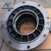 sand casting mechanical treated cast iron housing for auto hub