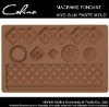 Macrame Fondant Mold and Gum Paste Mold in Lace Textured