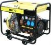 186FA 418CC 4500W Diesel Generator