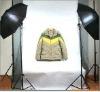Photographic auxiliary set -reflective umbrella kit