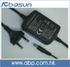5V 1.2A ( adapter)/fiber optic adapter with CE Plug