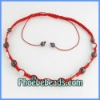 Wholesale Shamballa Necklace Crystal Rhinestone Disco Ball & Hematite Beaded Jewelry For Women 16Colors PSN14-10