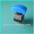 8.5*8.5mm Push switch with 6pin, lock or lockless ,RoHS