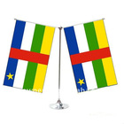 The Olympics table flag for Central Africa. can make 1/2/3/4 face.