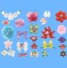decorative polyester satin ribbon, bow