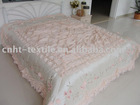 embroidery and lace bedspread