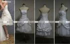AZRB010 Flower Short Bridesmaid Dresses