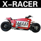 150cc X-Racer motorcycle Racing ATV POLEAXE