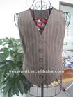Mens fashionable polyester cotton vest