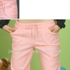 Fashion style lady's cotton long pants