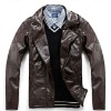 PU men's jacket for spring