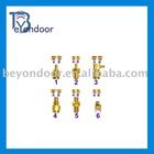 RF SMA Coaxial standard Golden plating Connector(manufactory)