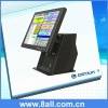 Cash Register and POS System Touch Screen POS All in One Machine with VFD Customer Display; Compact Pos System