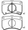 Brake Pad Set for MAZDA OE BG35-49-28ZA