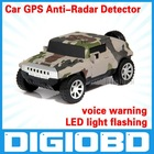 a6 hummer Auto Radar Laser detector Russinan Speaking vehicle speed control detector Radar detector